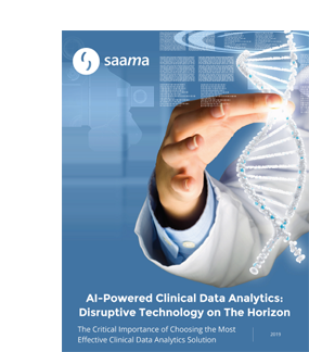Saama - View Your Data Differently - Faster Trials, Deeper Insights
